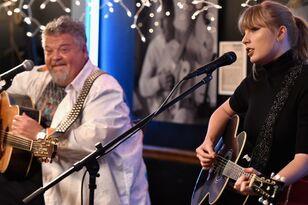 Taylor Swift Plays Surprise Set, Shoots Whiskey At Nashville Cafe