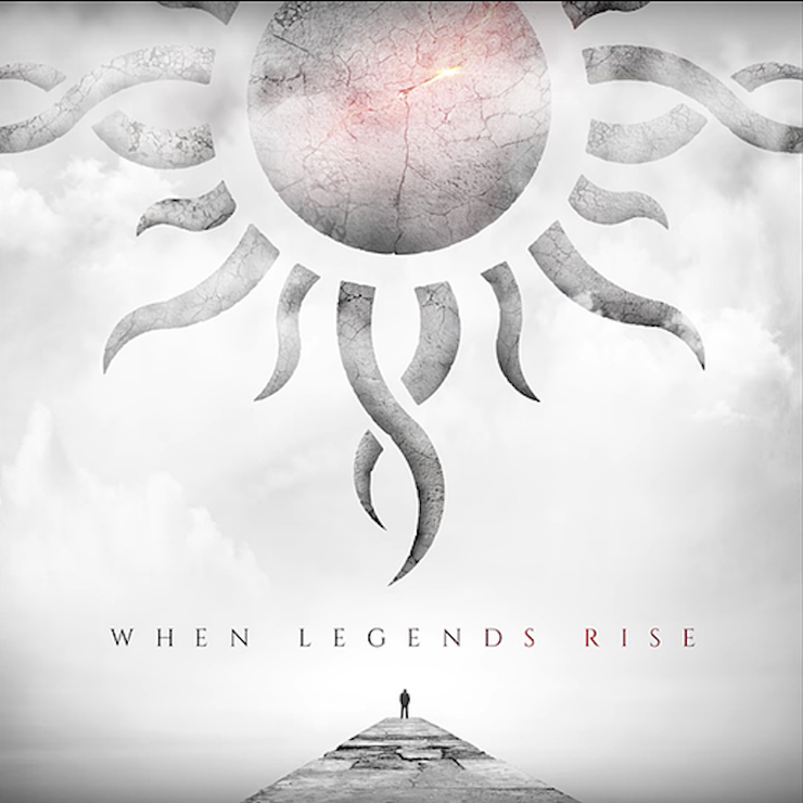 Godsmack - WHEN LEGENDS RISE Album Cover Art
