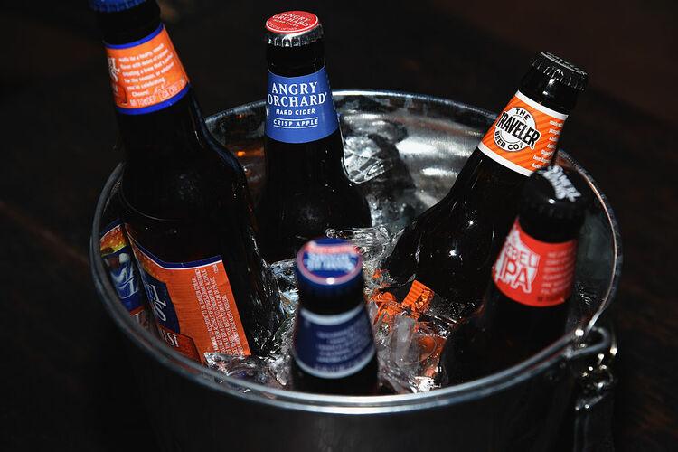 Bucket of Beer Getty