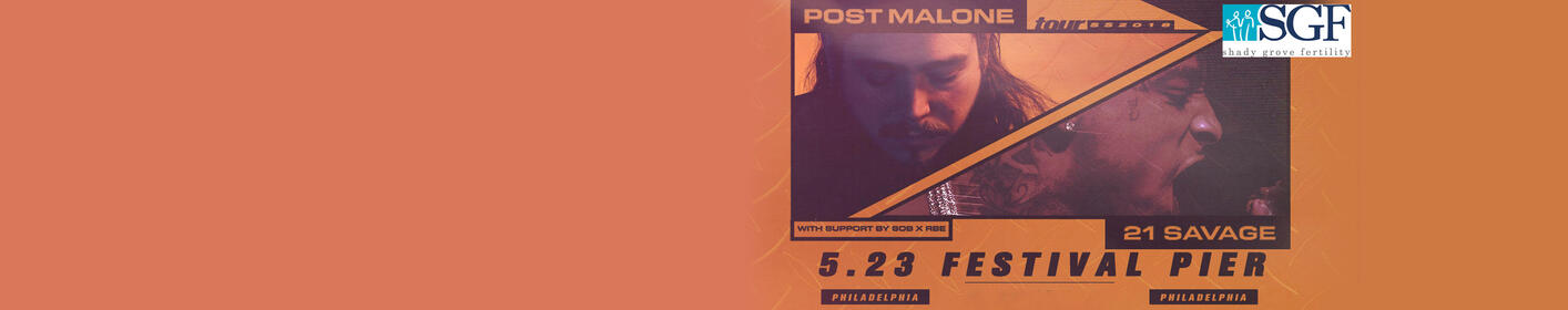 Win Tickets to Post Malone at Festival Pier on May 23rd!