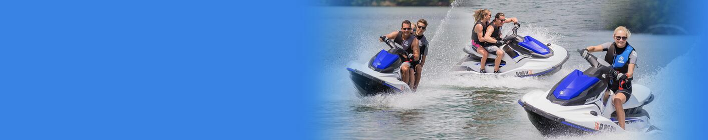 Win a pair of 2018 Yamaha WaveRunner EX's from Riva Motorsports