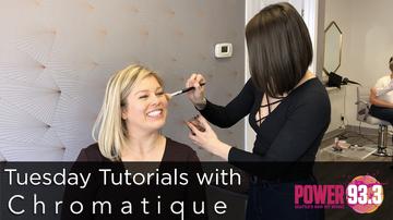 Kat - Tuesday Tutorials with Chromatique Salon - Contour and Highlight
