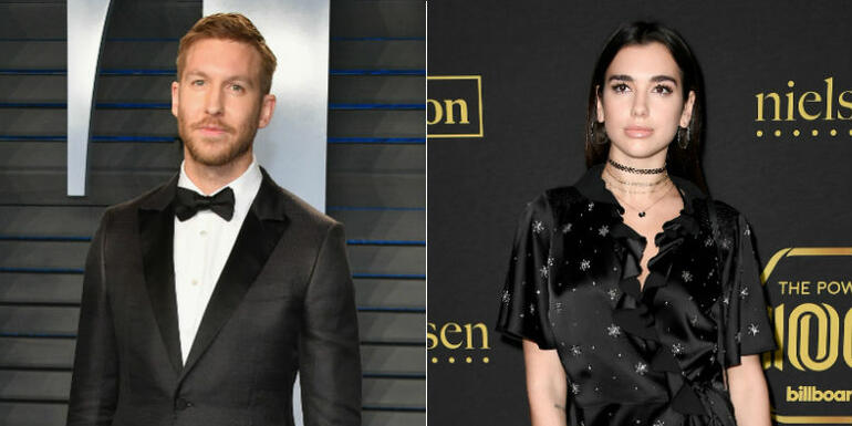 Calvin Harris Announces Dua Lipa Collab 'One Kiss'