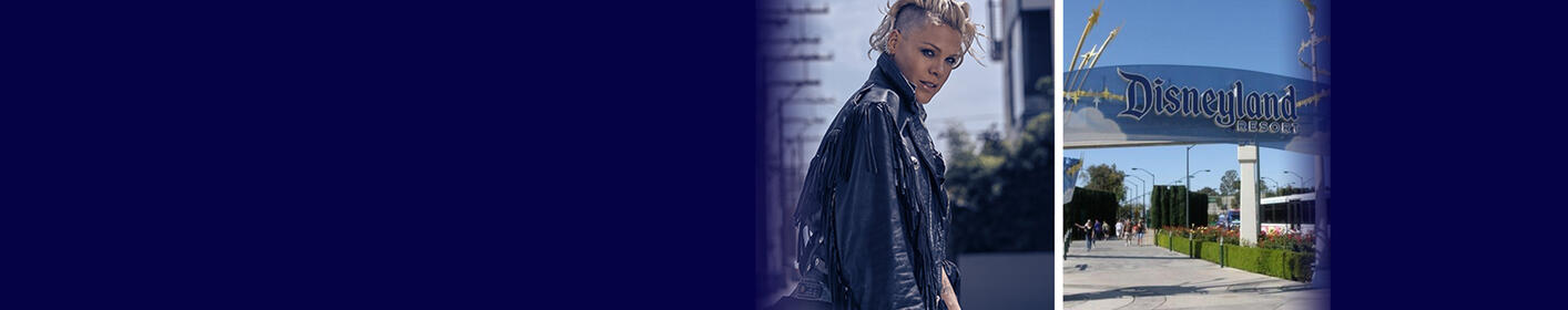 "Win a ""Magical"" Weekend with Pink in Anaheim!"