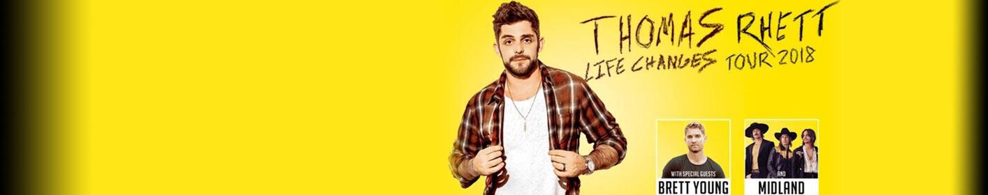Thomas Rhett @ the Van Andel Arena - Sat, Oct 6th