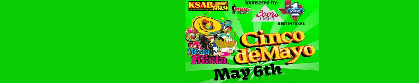 Our Annual Cinco De Mayo Fiesta is Back May 6th!