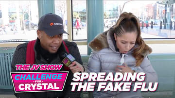The JV Show - The JV Show Challenge for Crystal: Spreading the Fake Flu