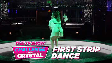The JV Show - The JV Show Challenge for Crystal: Her First Strip Dance