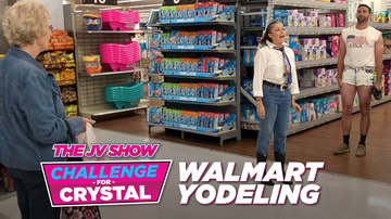 The JV Show - The JV Show Challenge for Crystal: Yodeling at Walmart