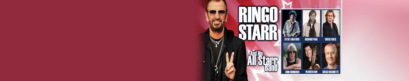 Win tickets to see Ringo Starr and his All-Starr Band at The AMP