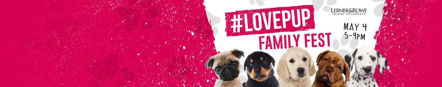 Join us at Reid Park for #LovePup Family Fest!