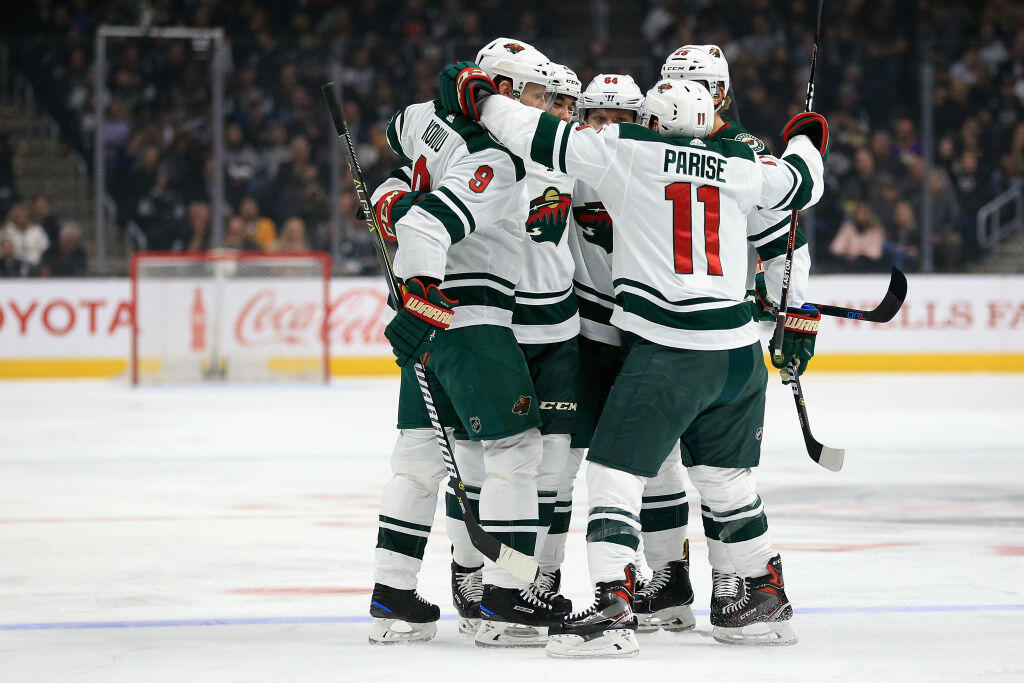separation shoes 2a8ad defcf Minnesota Wild Announces Schedule for First Round of 2018 ...