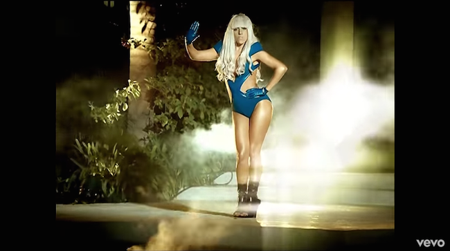 "Lady Gaga ""Poker Face"" Music Video"