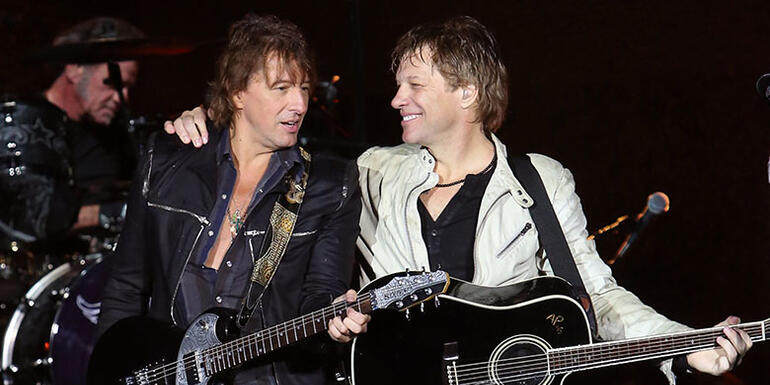 Richie Sambora Has Reunited With Bon Jovi at Rock Hall Rehearsals