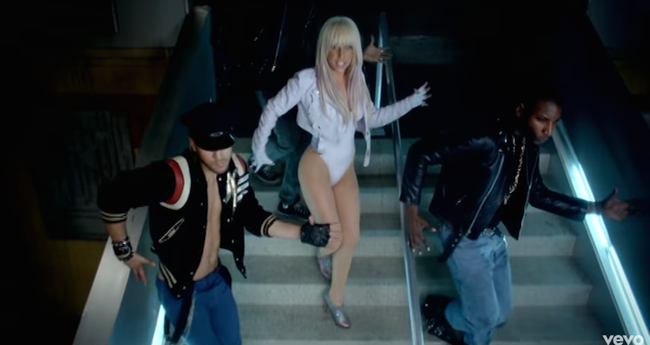"Lady Gaga ""LoveGame"" Music Video"