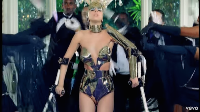"Lady Gaga ""Paparazzi"" Music Video"