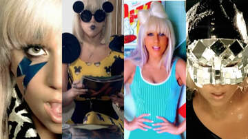 None -  Lady Gaga's Most Iconic 'The Fame' Era Music Video Looks