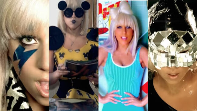 Lady Gaga Most Iconic 'The Fame' Music Video Looks