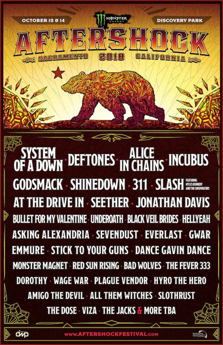 Aftershock Festival Lineup