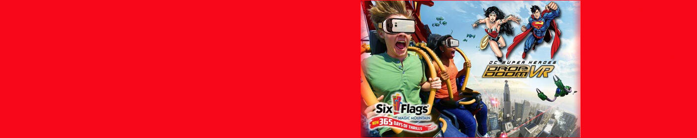Listen and Win tix to the ALT 98.7 Six Flags Takeover every hour, 9A-9P!