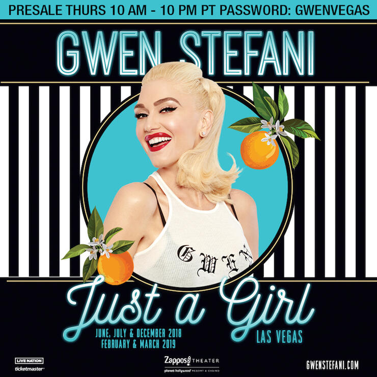 "Gwen Stefani ""Just A Girl"" Las Vegas Residency"