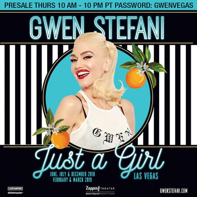 "Gwen Stefani ""Just A Girl"" Las Vegas Residency"