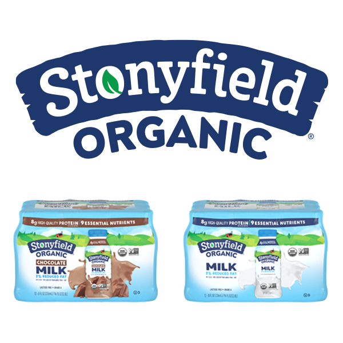 Stonyfield Organic Flavored Milks