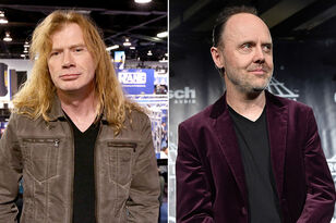 Dave Mustaine: It's Unfair That the Future of Big Four Is Up to Lars Ulrich