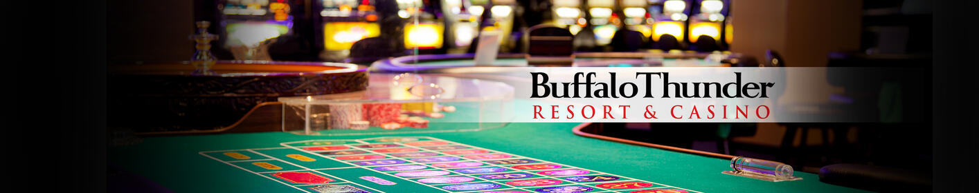 Listen to spin the Buffalo Thunder Resort and Casino slot machine!
