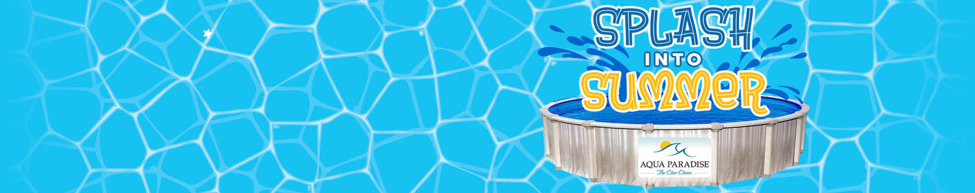 Splash Into Summer With A Brand New Pool!