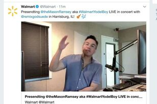 I Got To Wish Wish Walmart Yodel Boy Good Luck At His Hometown Show