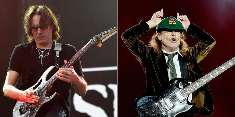 "Steve Vai Wants AC/DC Album With Axl Rose Because AC/DC Is ""Perfect"""