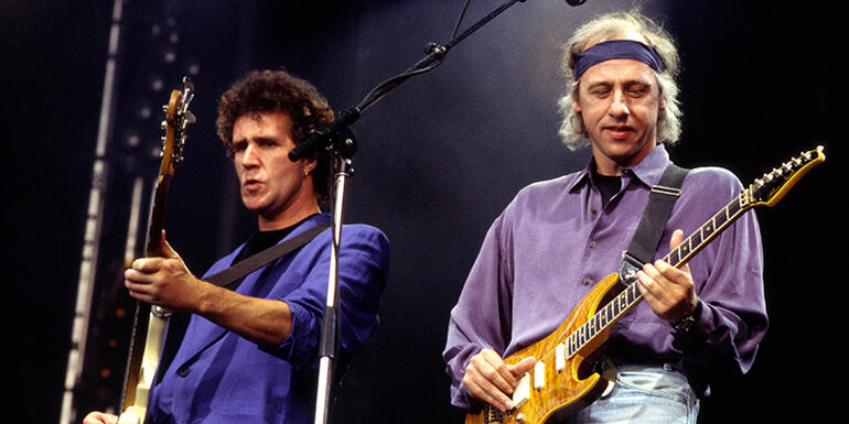 "Mark Knopfler Doesn't ""Feel Like Coming"" to Hall of Fame, Says Bassist"