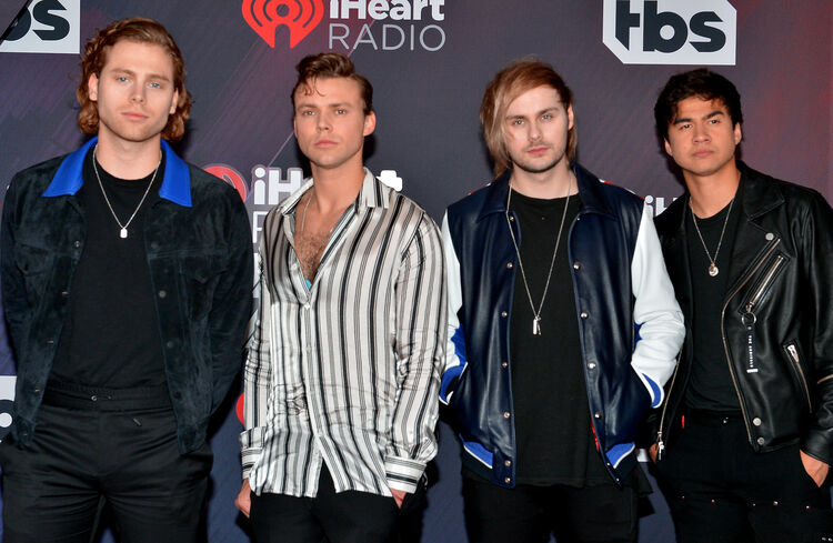 These are the times you can win 5sos meet greet passes brady z 104 5sos will perform and interview in our iheartradio sound studio powered by att on monday april 16 tune in to 1035 kiss fm and call 855 591 1035 at the m4hsunfo Images
