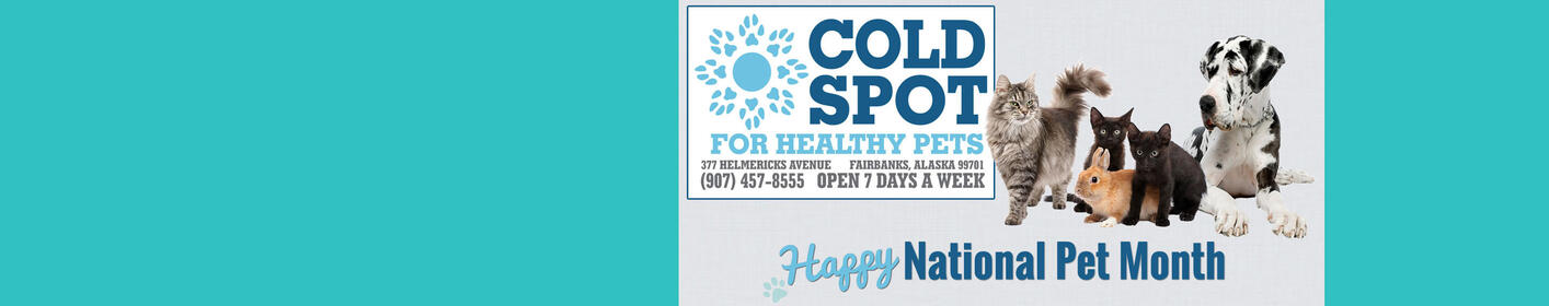 Post Your Pet Pics for a Chance to Win a $250 Gift Basket from Cold Spot for Healthy Pets >