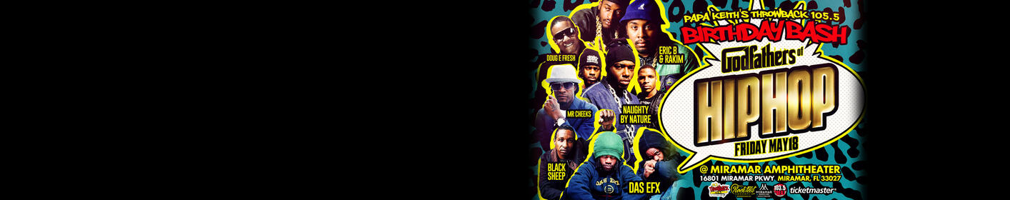 Win tickets to the Godfathers of Hip Hop