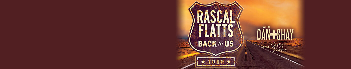 See RASCAL FLATTS @ Blossom on September 17th!