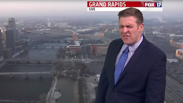 Trending - Weatherman Starts Yelling At Co-Anchors Live On-Air