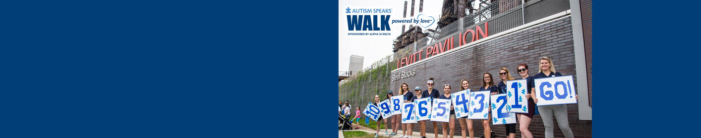 Join B104 & ZZO at Steelstacks for the Lehigh Valley Autism Speaks Walk on April 28th!