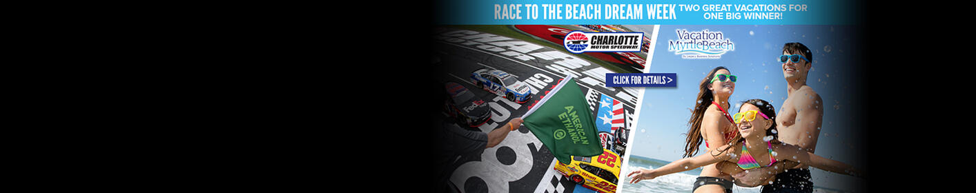 Win your way to the Coca-Cola 600 & a trip to Myrtle Beach!