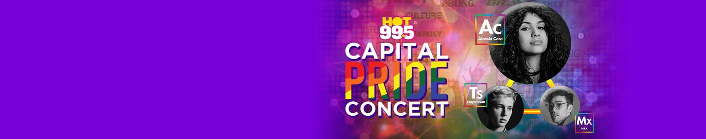 Alessia Cara, Troye Sivan And Max Will Be Performing At Capital Pride DC!