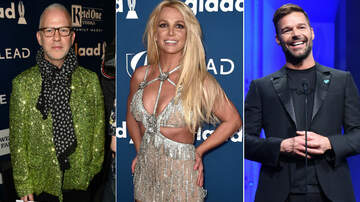 Pop Pics - GLAAD Media Awards Fashion: Britney Spears, Ricky Martin & More