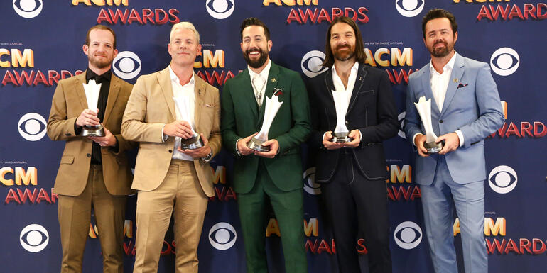 Old Dominion 'Honored' to Wear Route 91 Pins at ACM Awards