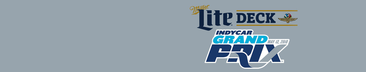Win Grand Prix Tickets + Miller Lite Deck Passes on Friday