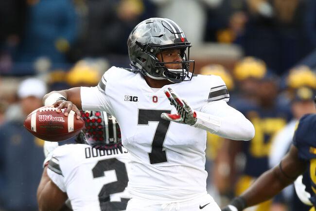 Dwayne Haskins didn't look, or play, like a freshman in relief of J.T. Barrett last year at Michigan