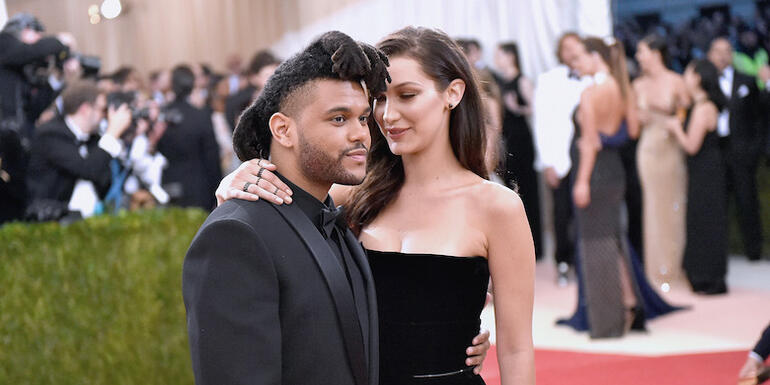 The Weeknd & Bella Hadid Were Spotted Kissing At Coachella After Party
