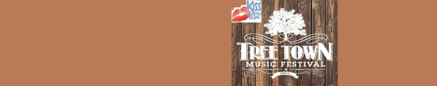 965 Kiss Country Welcomes the Tree Town Music Festival!
