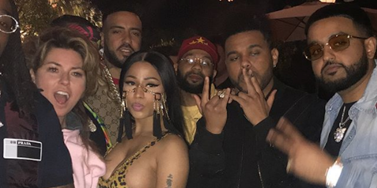 Nicki Minaj & Shania Twain Hung Out At Coachella (PHOTO)