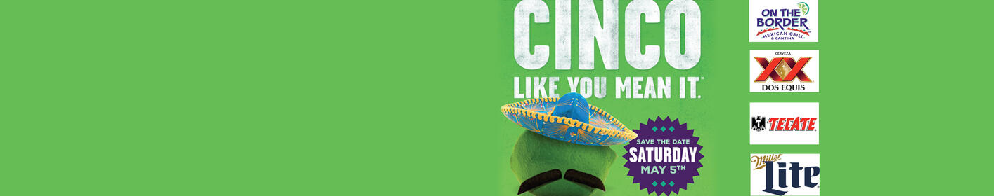 JOIN US MAY 5th! Cinco De Mayo Party @ On The Border Mexican Grill & Cantina Airport Center, Allentown!