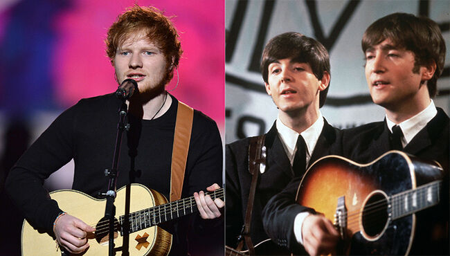 Ed Sheeran Is Negotiating for a Beatles-Related Film